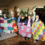 Beautiful quilts donated to the Farm
